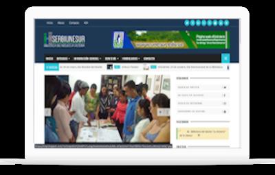 Blog y página web de la Biblioteca del Núcleo La Victoria